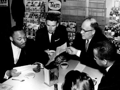 Claypool and MLK 1961